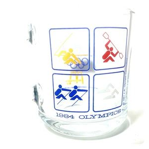 McDonald's 1984 LA Olympics Mug Swimming Boating